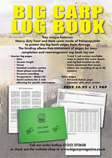 Big Carp Log Book -