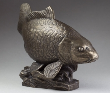 Fully Scaled Mirror Carp  In Bronze -